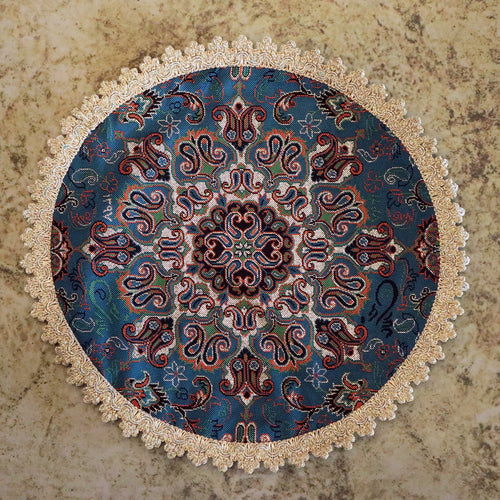 Termeh - Luxurious circle shape Persian textile - Buy 6 for only $35! - Pattern 1 - gallery-eshgh