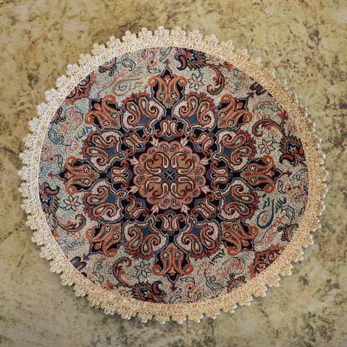 Termeh - Luxurious circle shape Persian textile - Buy 6 for only $35! -Pattern 2 - gallery-eshgh