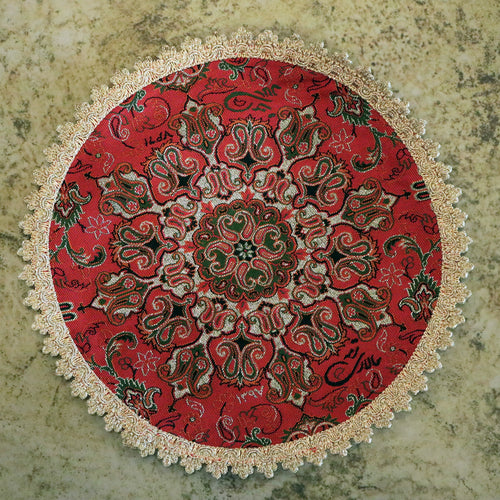 Termeh - Luxurious circle shape Persian textile - Buy 6 for only $35! - Pattern 3 - gallery-eshgh