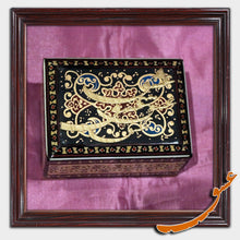 Load image into Gallery viewer, Hand Made Khatam Box with Calligraphy of the Word of Love - gallery-eshgh
