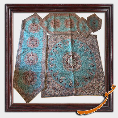 Termeh - A Set of 5 Pieces Luxurious Persian textile - Pattern 2