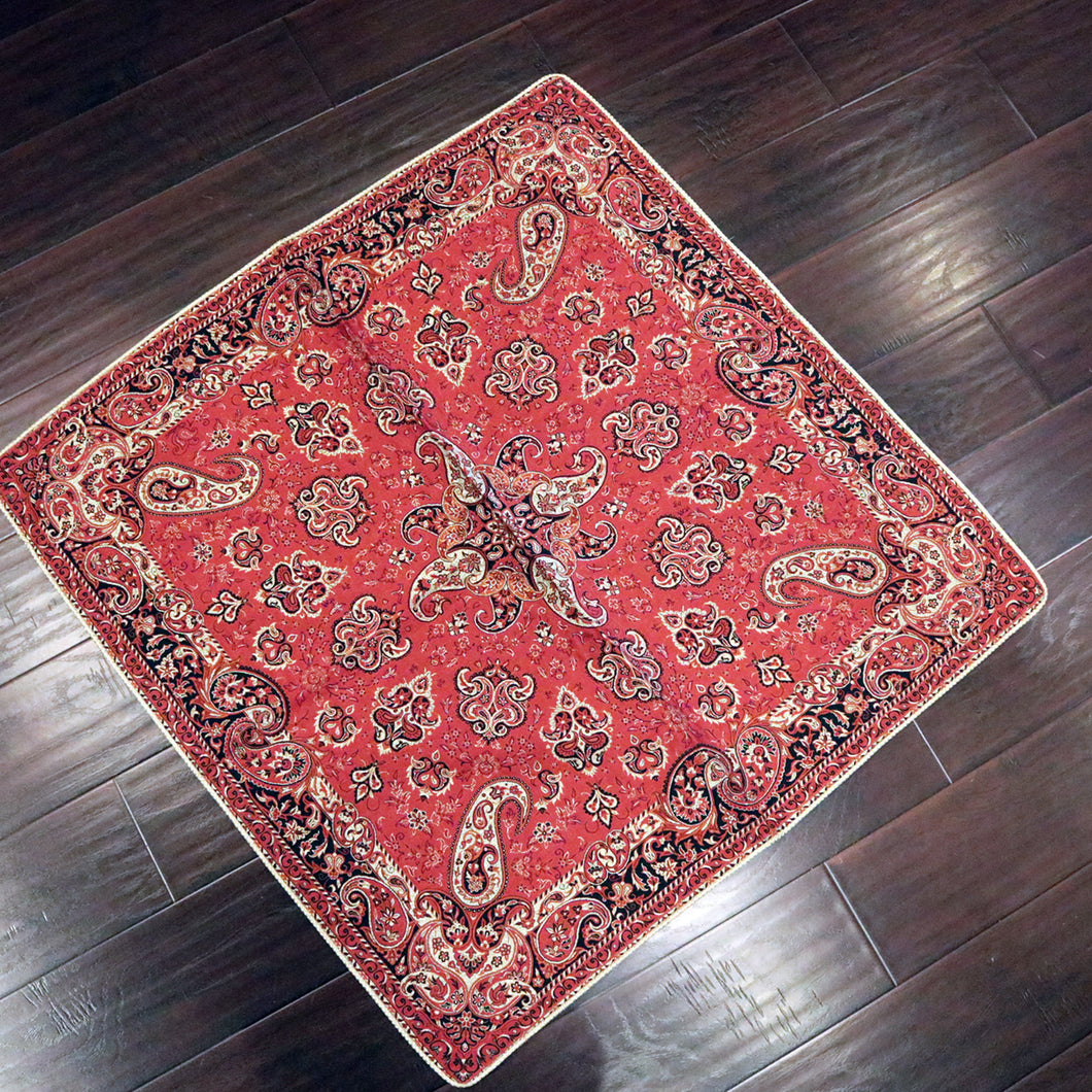 Termeh - Luxurious square shape Persian textile 39