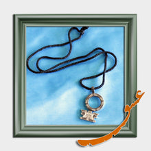Load image into Gallery viewer, Hand Made Necklace Pendant Persepolis - Silver - gallery-eshgh
