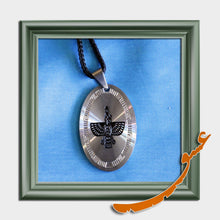 Load image into Gallery viewer, Hand Made Silver Necklace Pendant Farvahar Symbol -2 - gallery-eshgh
