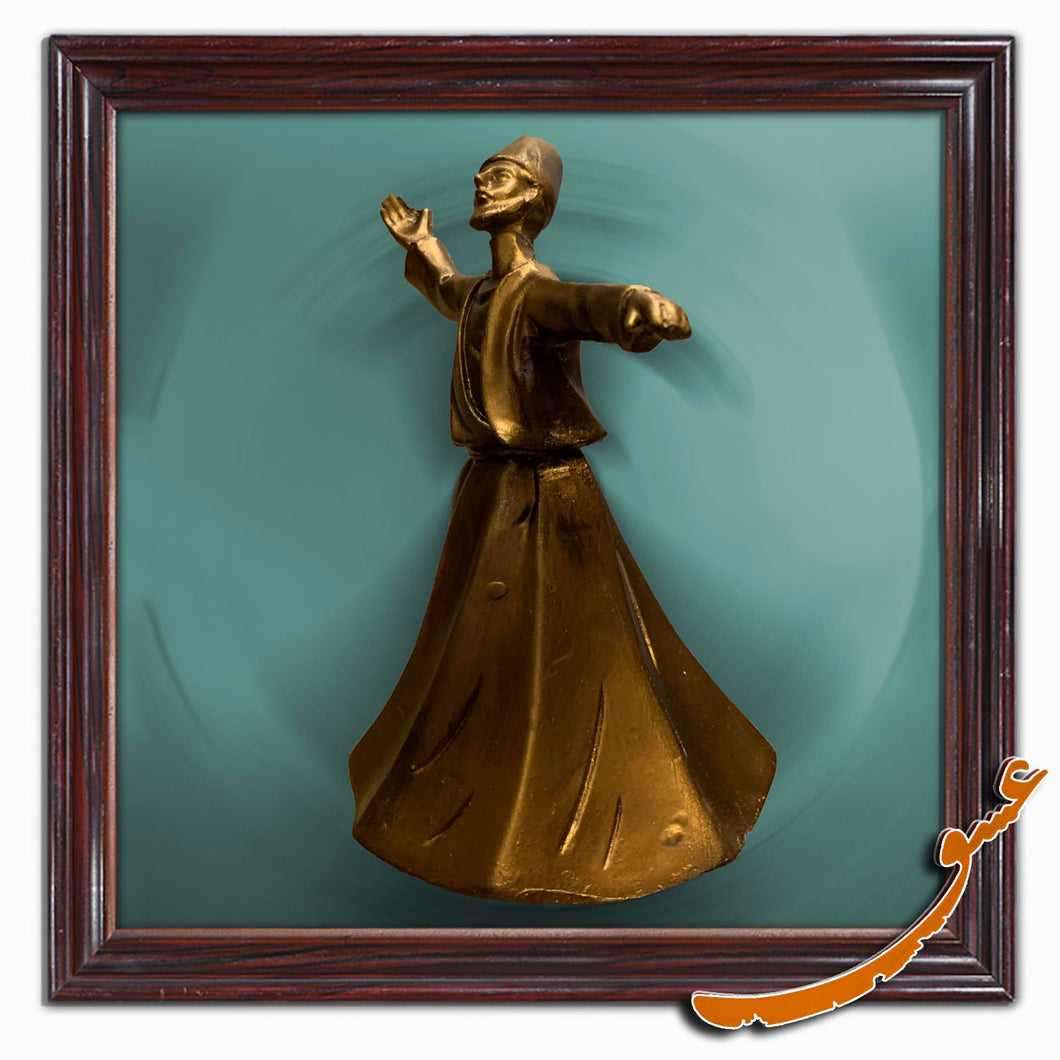Sama Dancer Polyester Statue Style 2- Gallery Eshghe