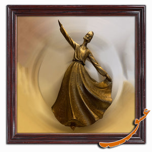 Sama Dancer Polyester Statue Style 1- Gallery Eshghe