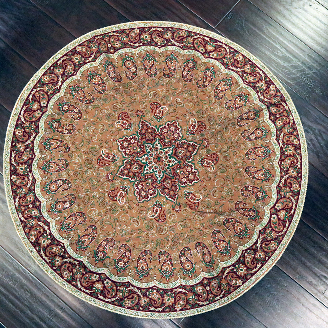 Termeh - Luxurious circle shape Persian textile 38
