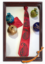 Load image into Gallery viewer, Tie With Gorgeous Printed Patterns + Handkerchief - gallery-eshgh