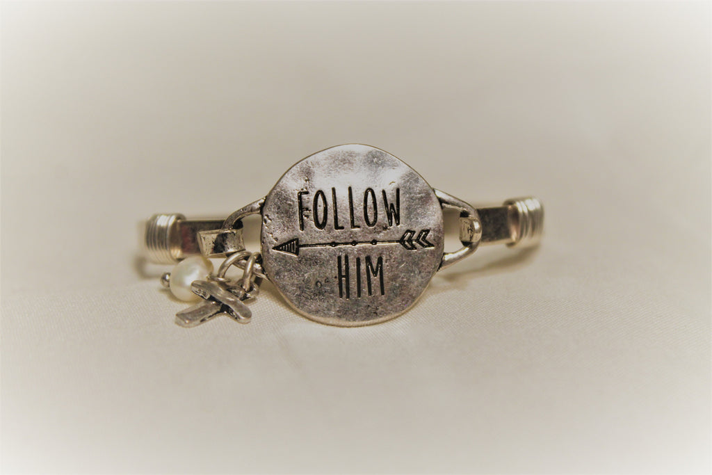 Follow Him Bracelet - Lotus Ave. Boutique
