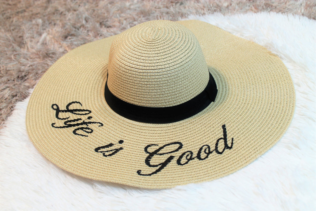 Life Is Good Sun Hat - Lotus Ave. Boutique