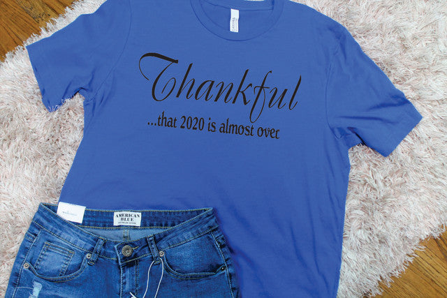 Thankful 2020 Tee - Lotus Ave. Boutique