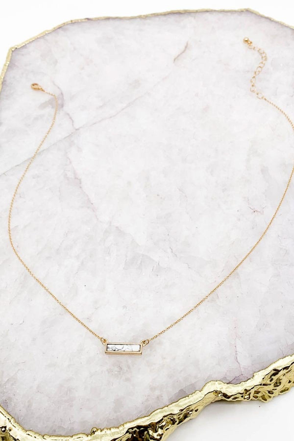 Precious Moments Necklace White - Lotus Ave. Boutique