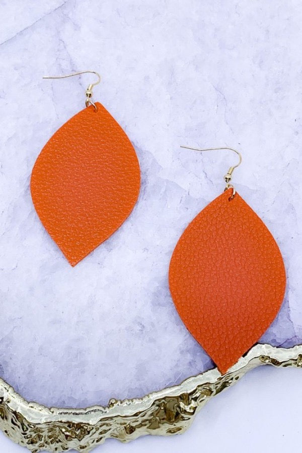 Orange Crush Earrings - Lotus Ave. Boutique