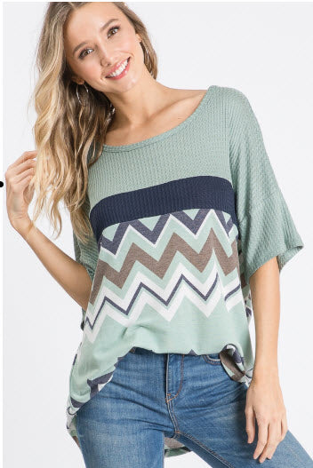 The Way To My Heart Top - Lotus Ave. Boutique