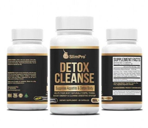SlimPro Detox Cleanse 30 Day Supply