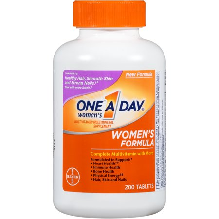 One A Day Women's Multivitamin Tablets, 200 Count