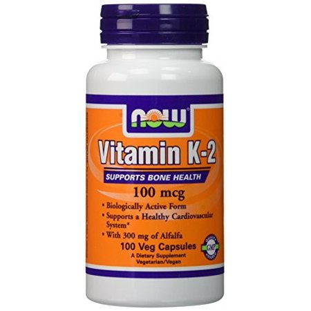 Now Foods Now  Vitamin K-2, 100 ea