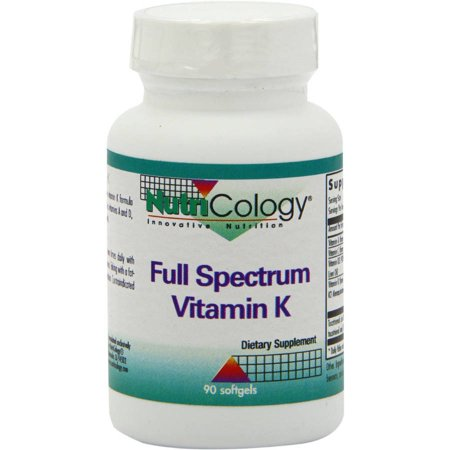 Nutricology Full Spectrum Vitamin K, 90 CT