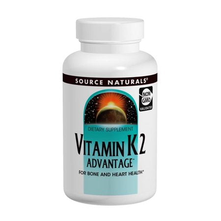 Vitamin K2 Advantage Source Naturals, Inc. 60 Tabs