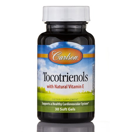 Tocotrienols with Natural Vitamin E - 30 Soft Gels by Carlson Labs
