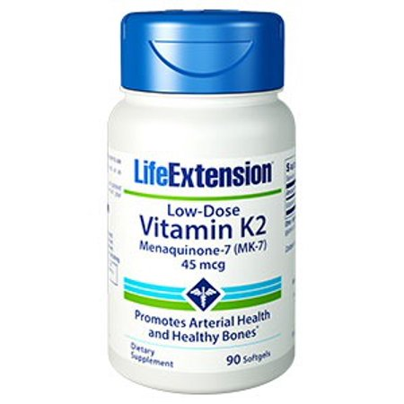 Low-Dose Vitamin K2 45 mcg Life Extension 90 Softgel