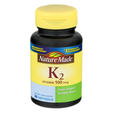 Nature Made Vitamin K2 100 mcg.