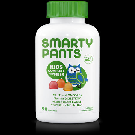 SmartyPants Kids Complete and Fiber Multivitamin Gummies, 90 Ct
