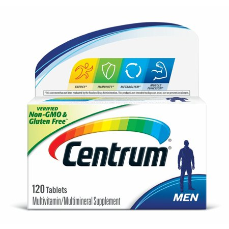 Centrum Men Multivitamin Tablets, 120 ct
