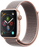 44mm Apple Watch Gold Aluminium | Pink Sand Sport Loop - Series 4