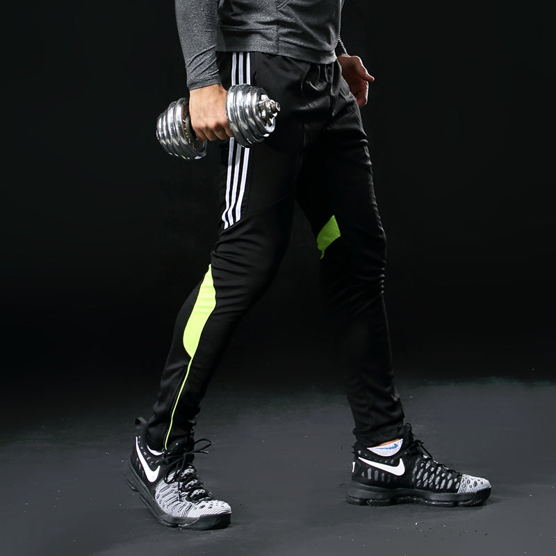 Men Sports Elasticity Legging Jogging Gym Trousers