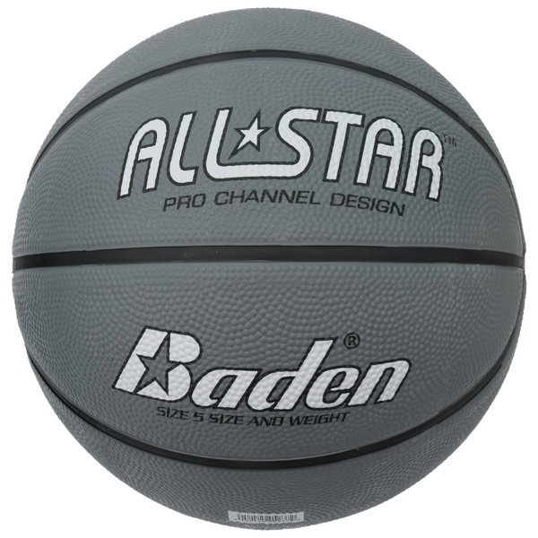 Baden All Star Basketball Size 5 Silver - Sport Essentials