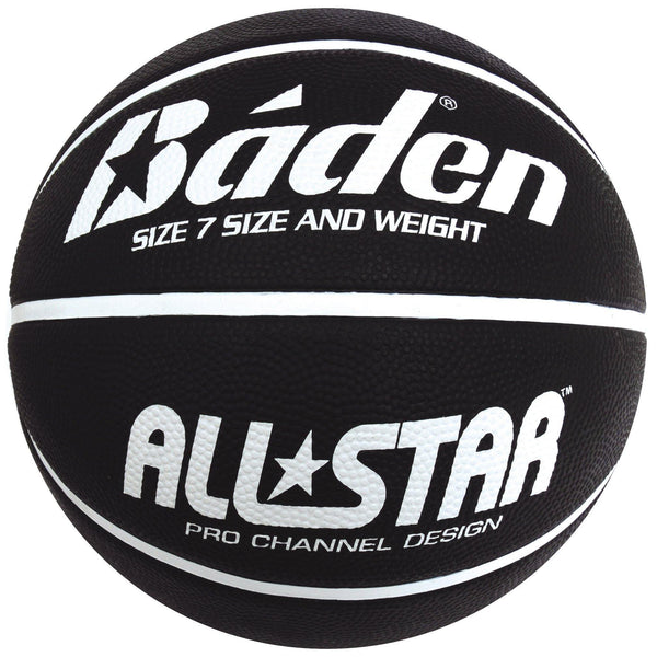 Baden All Star Basketball Size 7 Black - Sport Essentials
