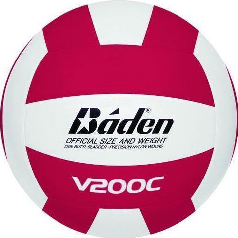 Red and White Baden Rubber Volleyball