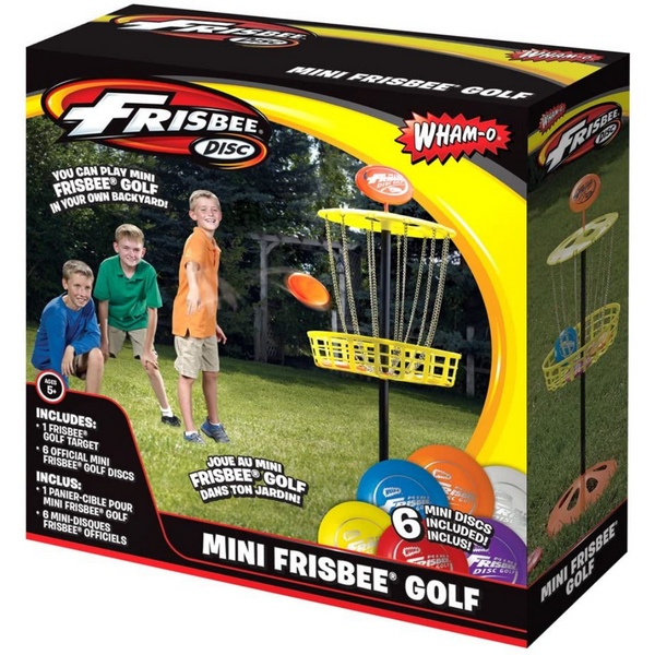 Mini Frisbee Golf Game