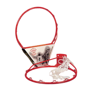 Sure Shot Basketball red Ring and white Net 203E -  Sport Essentials