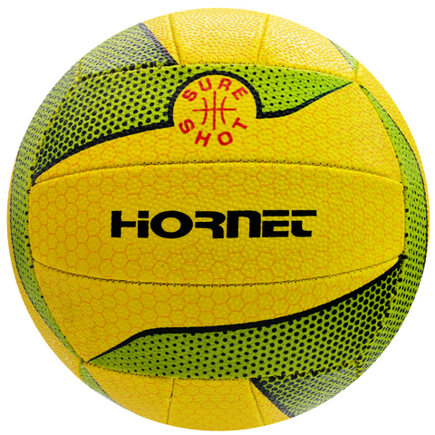 Sure Shot Hornet Netball green and yellow - Sport Essentials