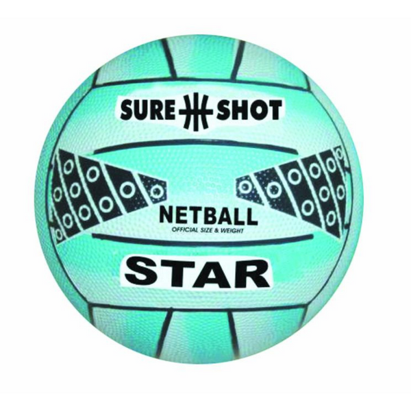 SureShot official size and weight baby blue netball