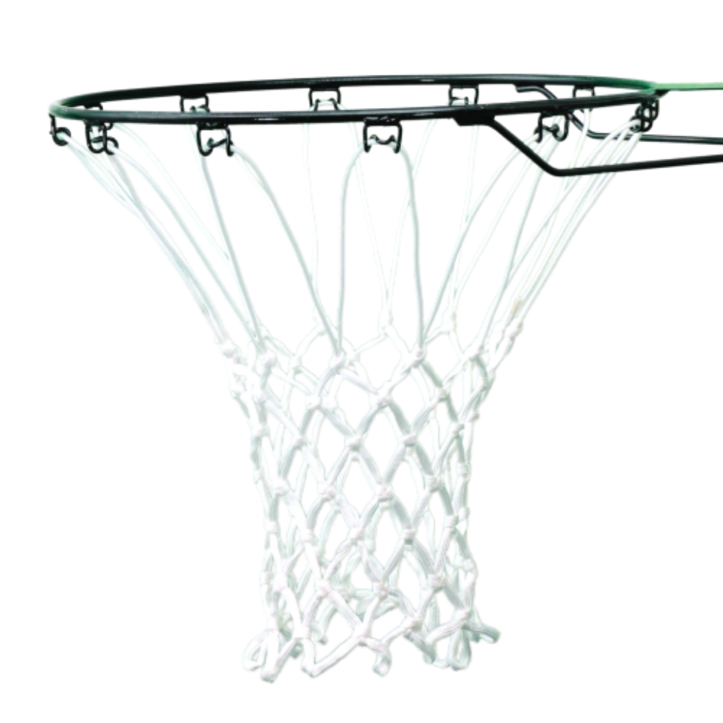 Sure Shot Anti-Whip white basketball net