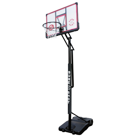 "Sure Shot ""Easi Just"" Portable Adjustable Basketball Unit - Sport Essentials"