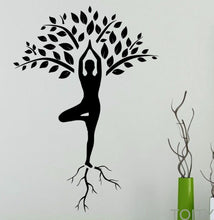 Load image into Gallery viewer, Yoga Wall Decal