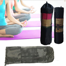 Load image into Gallery viewer, Yoga Mat and Waterproof Carrier with Adjustable Strap