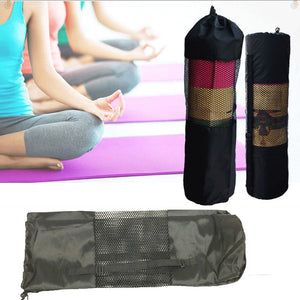 Yoga Mat and Waterproof Carrier with Adjustable Strap