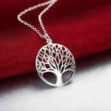 Load image into Gallery viewer, 925 Silver Tree of Life Necklace