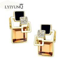 Load image into Gallery viewer, Unique Geometric Earrings in Various Colors