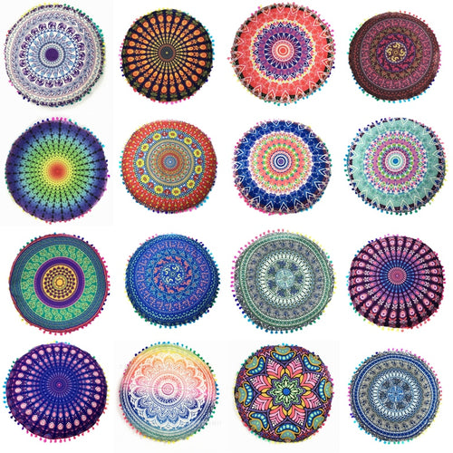 Mandala Pattern Meditation Pillow