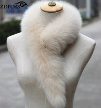 Load image into Gallery viewer, Authentic Fox Fur Collar/Scarf- Multiple Colors Available