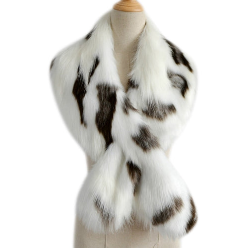 Elegant Faux Fur Scarf- Multiple Colors Available