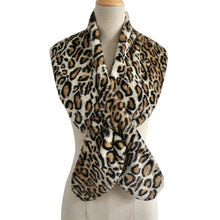 Load image into Gallery viewer, Elegant Faux Fur Scarf- Multiple Colors Available