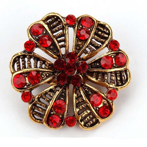 Vintage Brooches in Various Designs