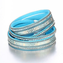 Load image into Gallery viewer, Multi-layer Leather Beaded Bracelet in Various Styles and Colors